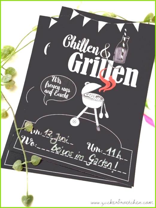 """Freebie Einladung zum """"Chillen & Grillen"""" Neuer Link zum chillen grillen freebie"""