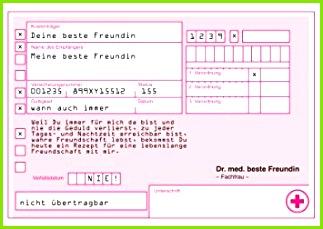 """Rezept Gutschein Karten an""""meine beste Freundin"""" für lebenslange Freundschaft • auch zum direkt"""