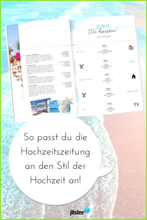 Die Hochzeitszeitung an den Stil der Hochzeit anpassen Jilster Blog Zeitschrift gestalten Vorlagen Tipps & Ideen rund ums Zeitung erstellen