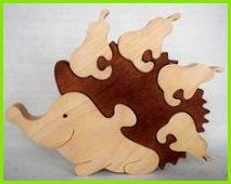Holz Puzzle Tier Puzzle Zoo Tier