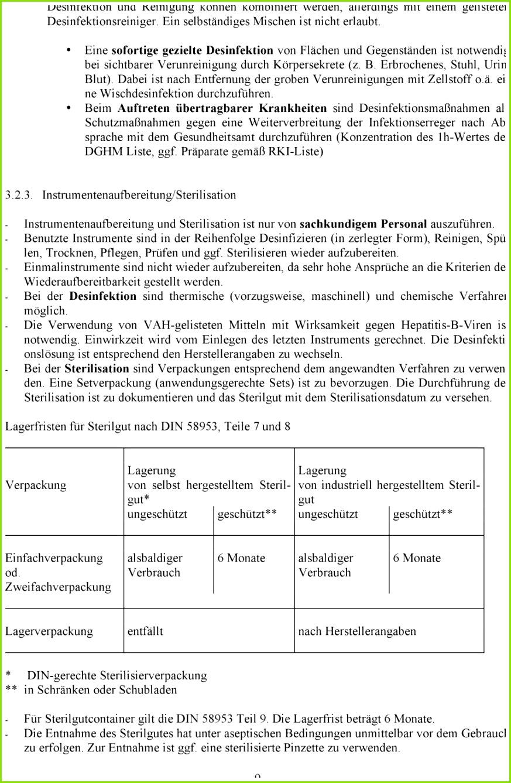 hygieneplan physiotherapie muster