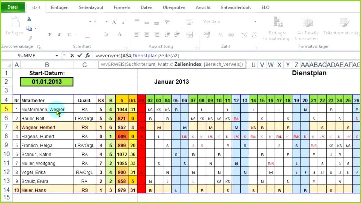 Vorlage Arbeitsplan Excel Download durchgehend Recent Excel Monatsbersicht Aus Jahres Dienstplan Ausgeben Per Wverweis