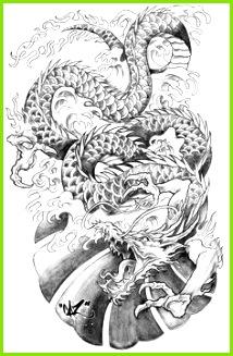 japanese sketch Google Search Japanese Dragon Tattoos Asian Dragon Tattoo Dragon Hand Tattoo