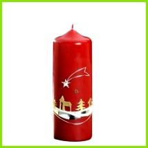 Designkerze Stern von Bethlehem ca 17 x 6 cm jede Kerze ist ein Unikat