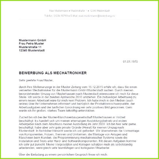 Kfz Mechatroniker Bewerbung Besten Der Kfz Mechatroniker Bewerbung Muster Neues Kfz Mechatroniker Bewerbung
