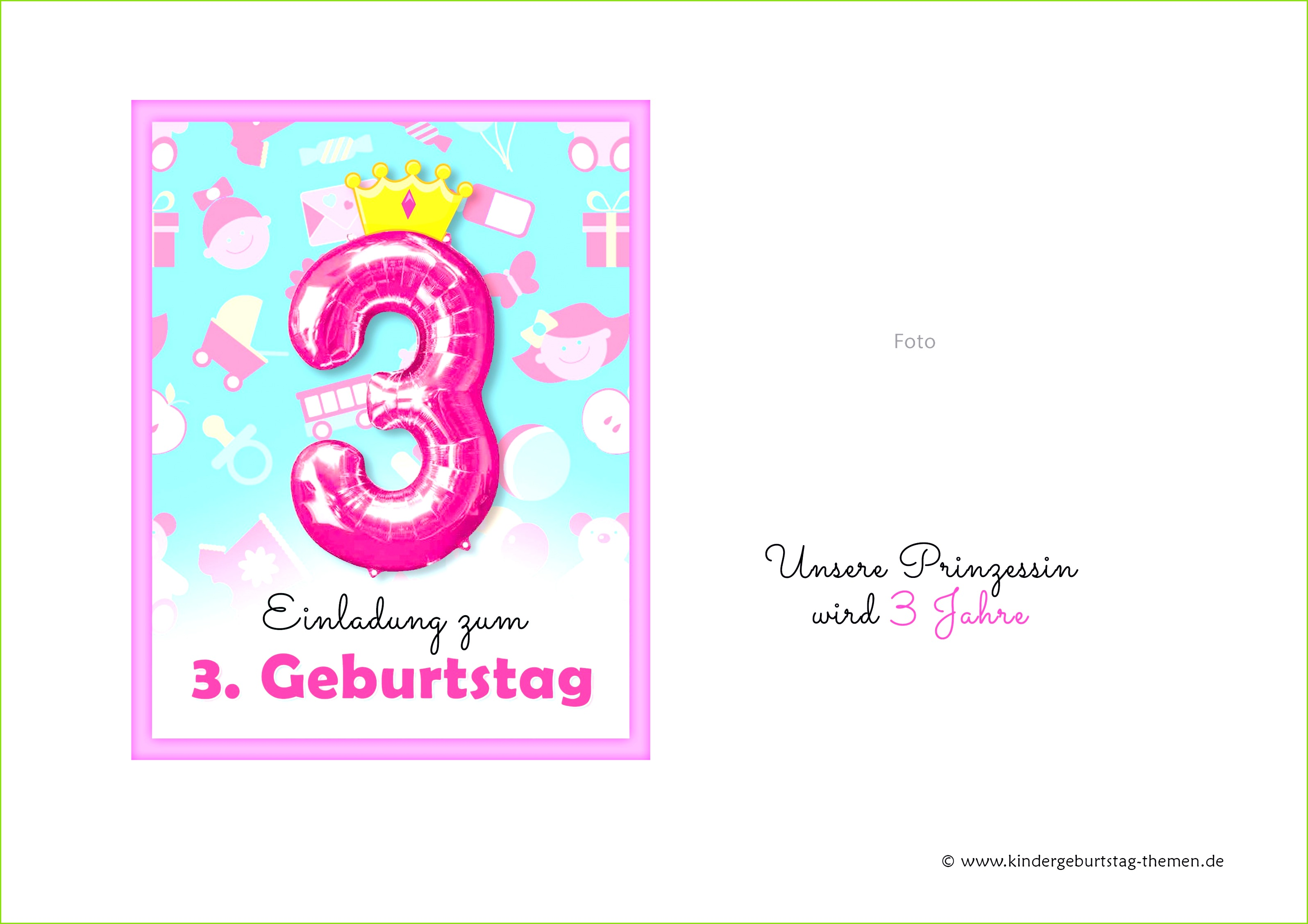 0d 59 82 Kindergeburtstag Einladung Selber Basteln Einladungskarten Madchen Vorlagen Design