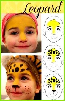 Hier findet ihr Anleitung für einen süßen Leoparden Anleitung zum damit ihr