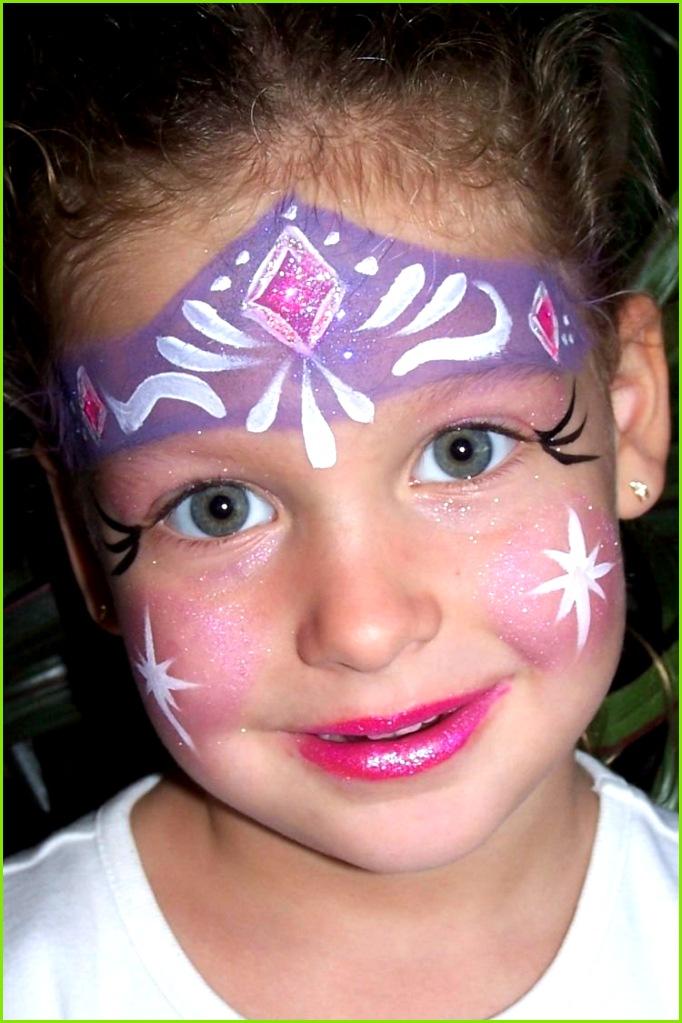 eiskönigin prinzessin elsa gesicht make up karneval