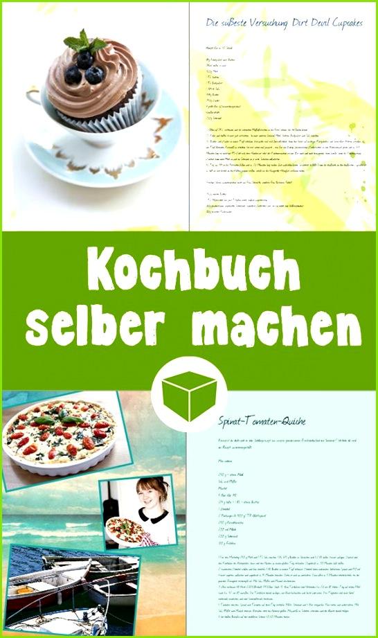 So einfach gestaltest Du ein persönliches Kochbuch selbst In nur wenigen Schritten fügst Du alle