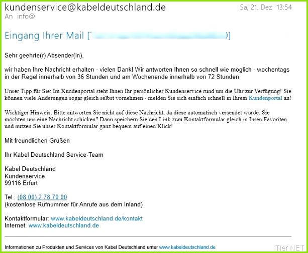 Kündigung Kabel Deutschland Internet Und Telefon Vorlage Gut Kabel Deutschland Sicherheitspaket Kündigen – so Gehts