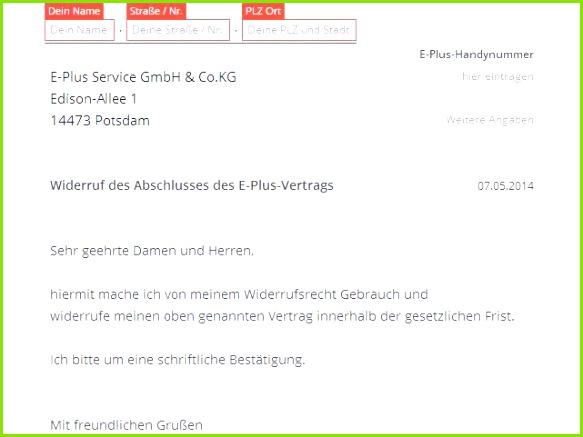 Kündigung Handyvertrag Vodafone Muster Design Vodafone Widerruf Vorlage