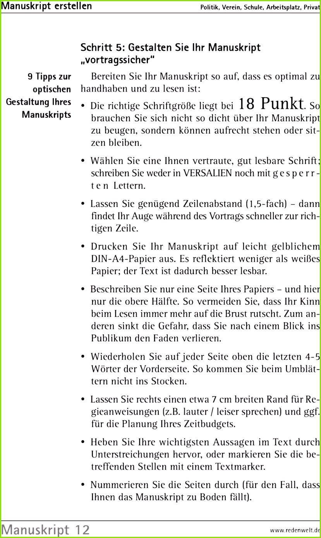 5 Buch Manuskript Vorlage