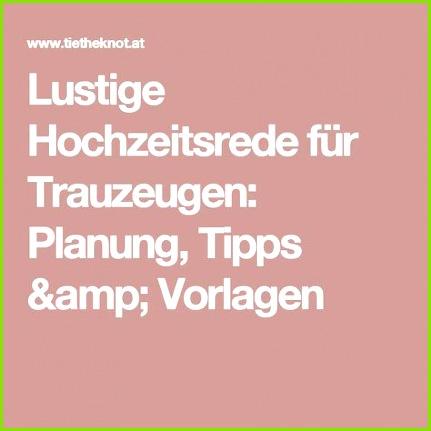 Lustige Hochzeitsrede für Trauzeugen Planung Tipps & Vorlagen