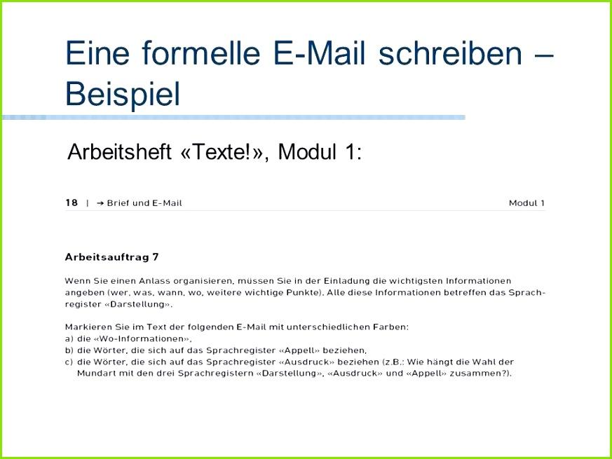 Groß Formelle Lebenslauf E Mail Bilder Entry Level Resume Vorlagen