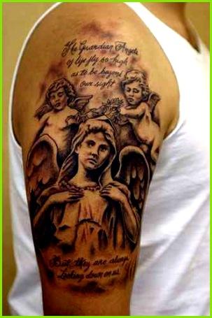 Maria und ihre Engel