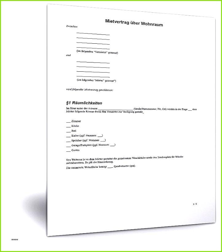 66 Großartig Kündigung Mietvertrag Mieter Vorlage Modelle