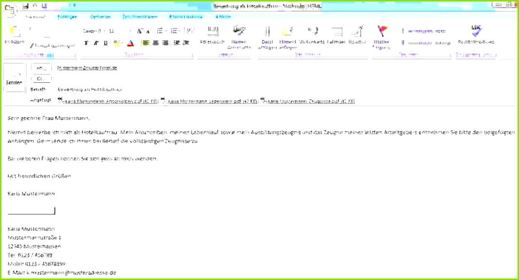 21 Bewerbung Email Text Beispiel