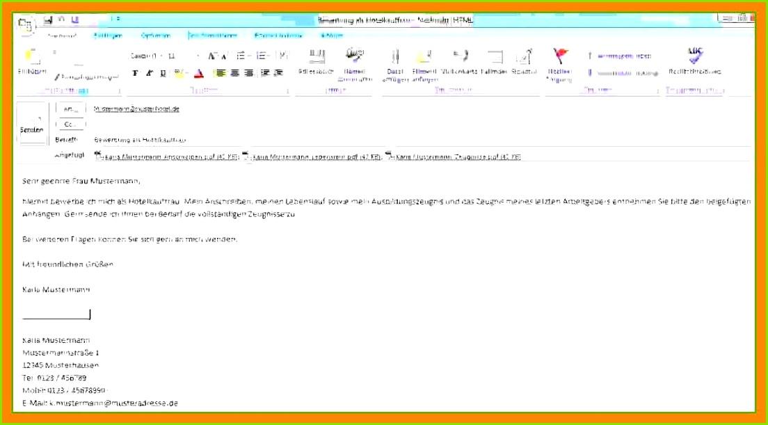 14 Bewerbung Per Email Text Beispiel