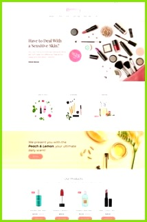 Francy Cosmetics Store MotoCMS E merce Template