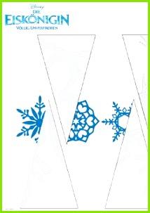Die Eiskönigin Papierschneeflocken Vorlage