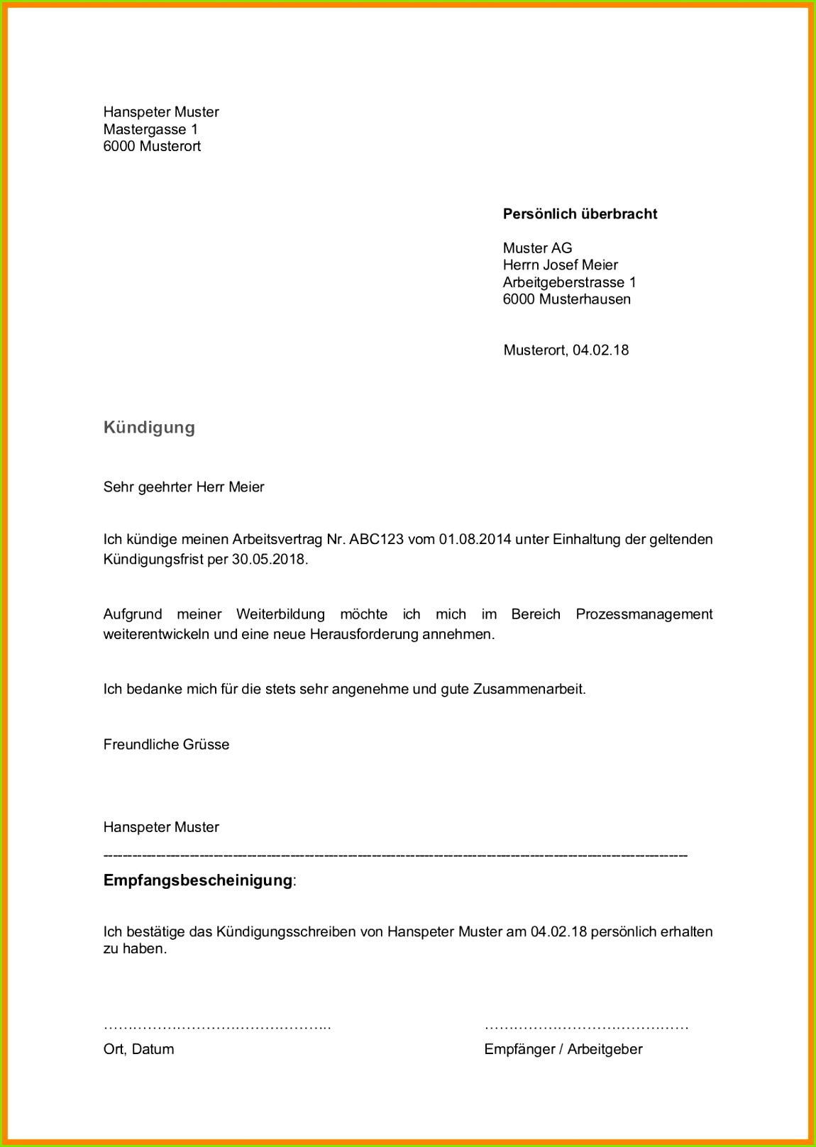 kundigungsschreiben in der probezeit kundigungsschreiben in der probezeit arbeitnehmer vorlage kostenlos einzigartig kundigung vorlage and muster