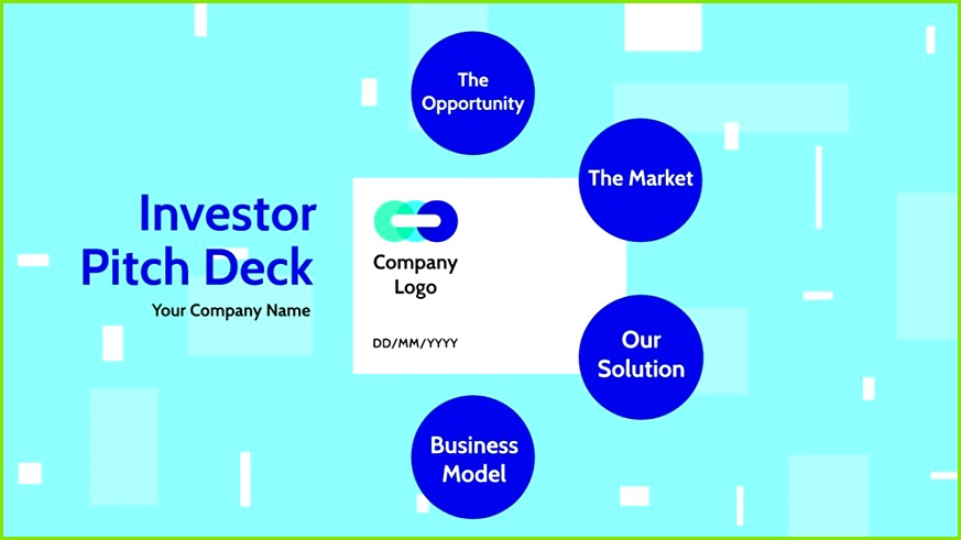 Investor Pitch Deck Startup