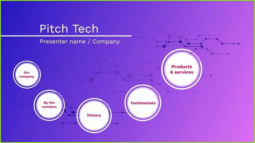 Pitch Tech Purple