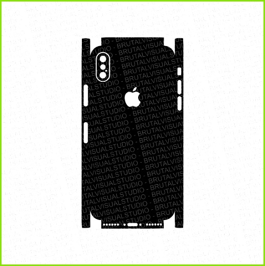 Iphone 10 X Skin Cut Template Templates for cutting or machining Digital Download Plotter