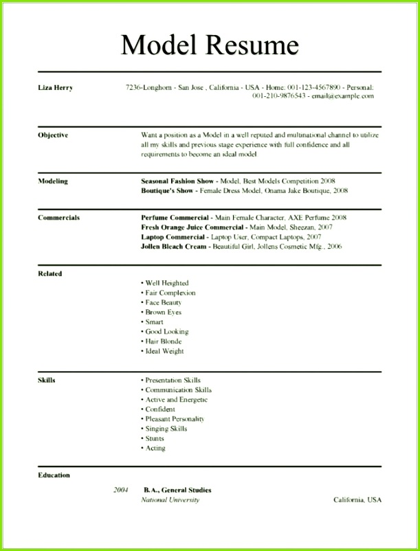 Vorlage todesanzeige Word Elegant Modeling Resume Template Microsoft Word Resume Design