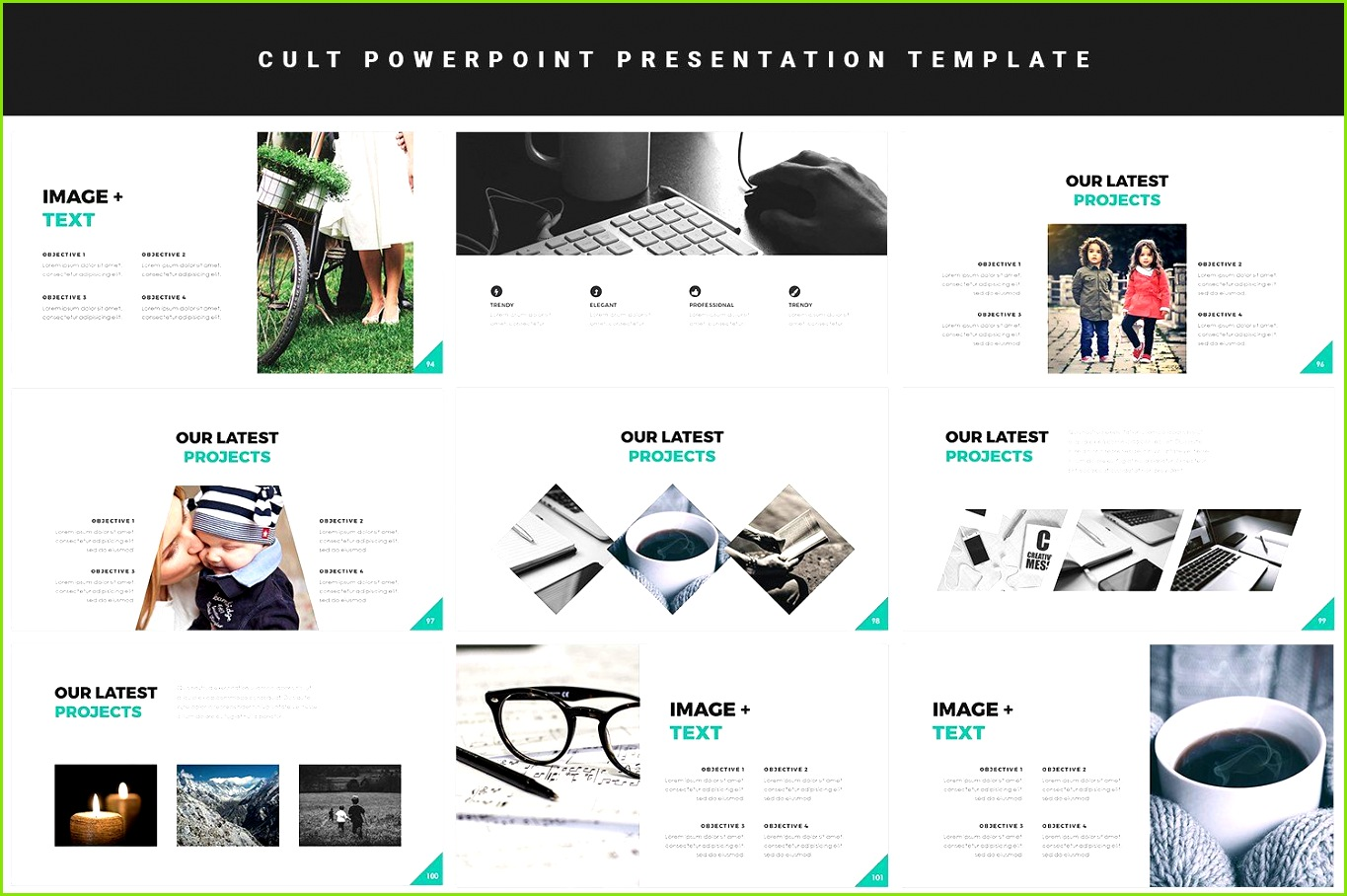 Powerpoint Template Cult Cult Features master Powerpoint