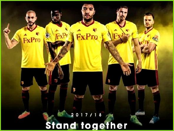 Watford s new Adidas home kit