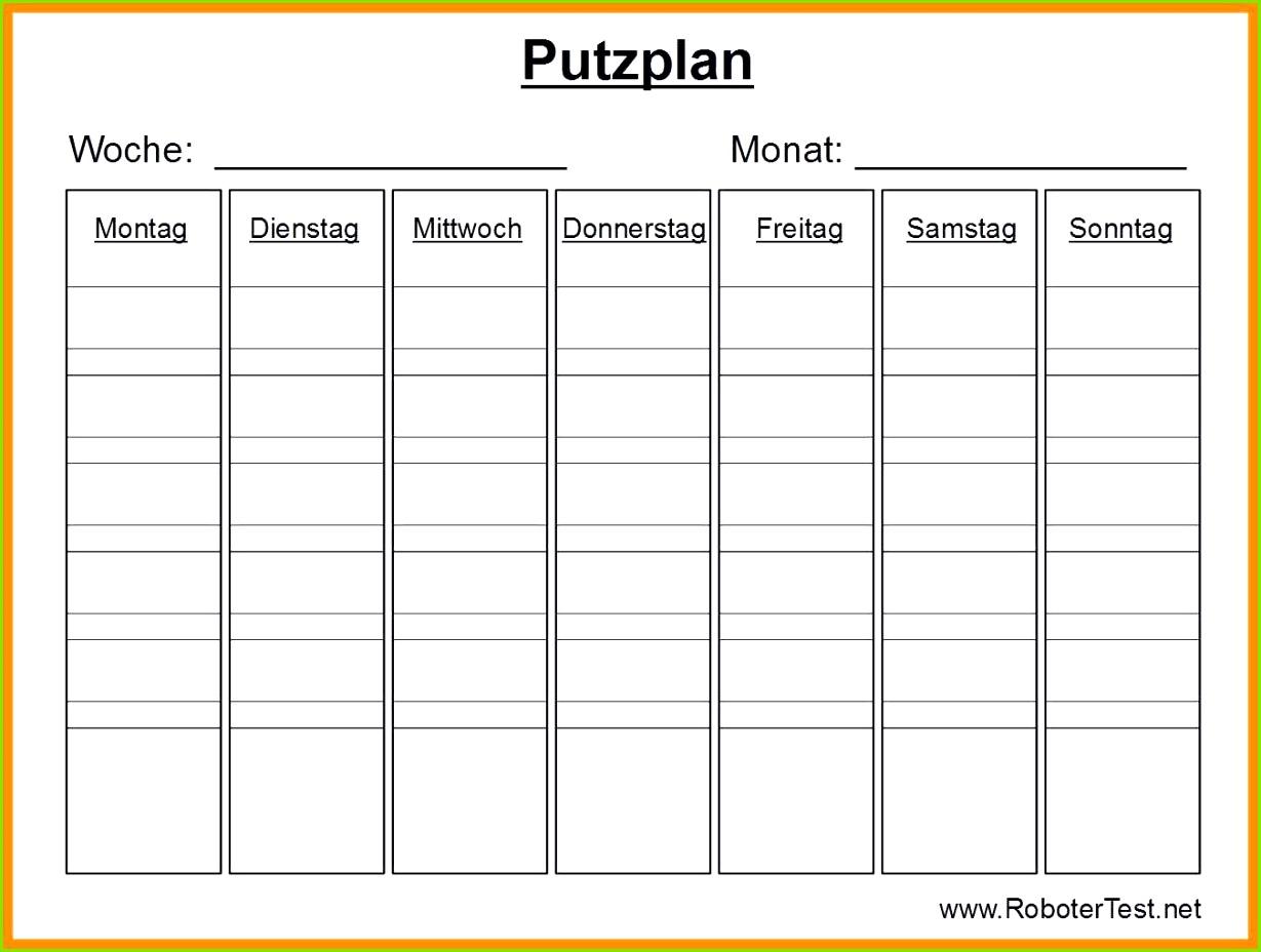 20 Luxus Putzplan Treppenhausreinigung Vorlage 13