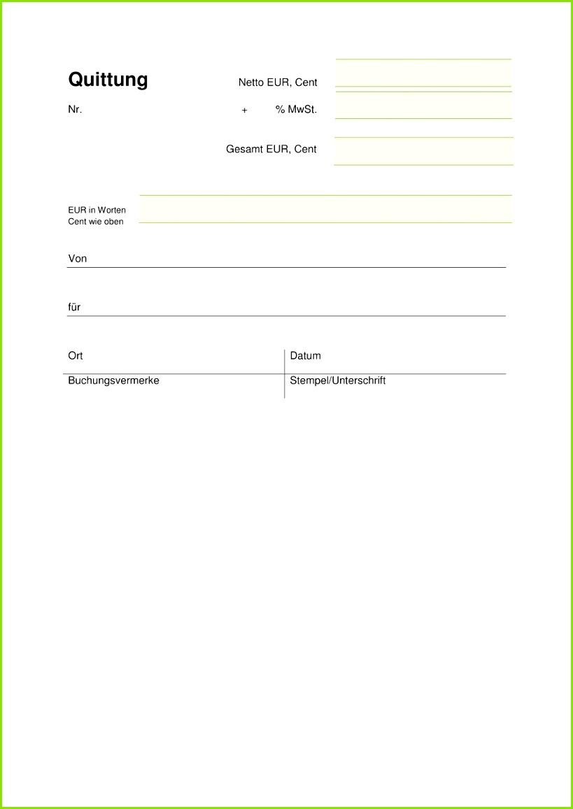 Jetzt Quittung online schreiben · Quittungsvordruck Download Quittungsvordruck als Vorlage
