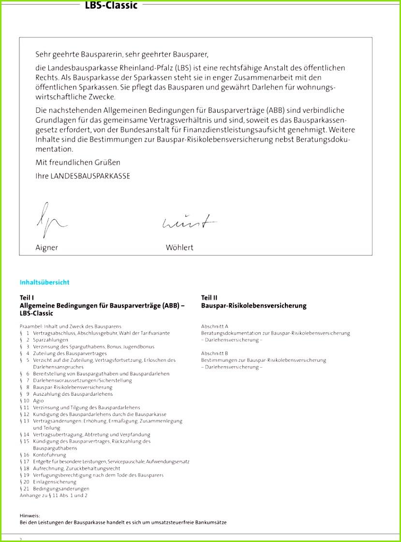 Die nachstehenden Allgemeinen Bedingungen für Bausparverträge ABB sind verbindliche Grundlagen für das gemeinsame Vertragsverhältnis