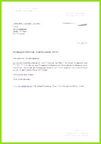 Kündigung Mietvertrag Vorlage und Muster Kündigungsschreiben