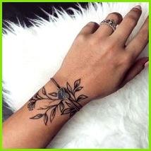 Idee Tattoo Tattoo Vorlagen Neue Wege Niedlich Tattoos Handgelenk Tätowierung Blumen