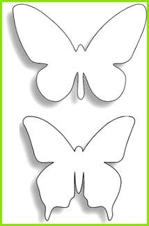 Schablone Schmetterling Schmetterling Vorlage Schmetterling Falten