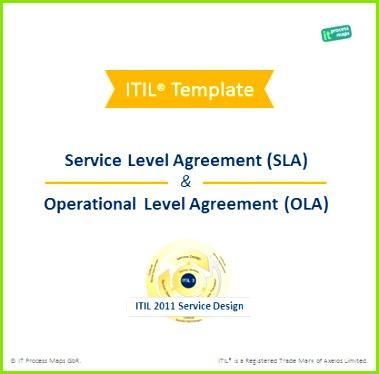 Service Level Agreement SLA Operational Level Agreement OLA