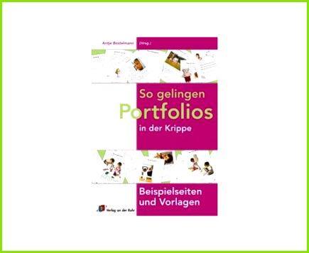 Vorlagen zum Portfolio Buch So gelingen Portfolios in der Krippe 1