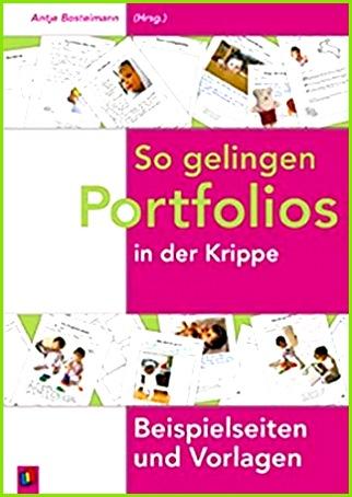 So gelingen Portfolios in der Krippe Beispielseiten und Vorlagen Amazon Antje Bostelmann Bücher