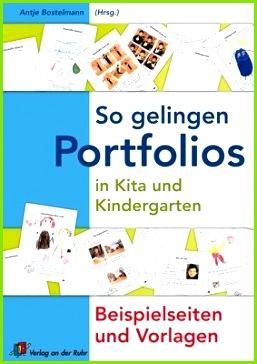 So gelingen Portfolios in Kita und Kindergarten Beispielseiten und Vorlagen