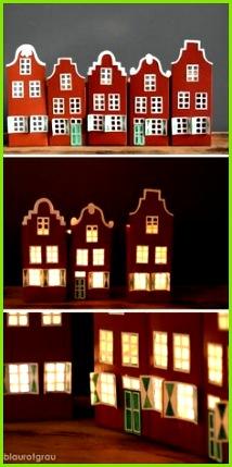 Häuser aus Milchkarton Milchkarton Basteln Basteln Mit Papier Bastelei Weihnachten Basteln Vorlagen