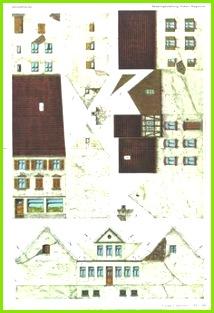 Häuser Basteln Basteln Mit Papier Bastelei Miniatur Möbel Papier Falten Pappe