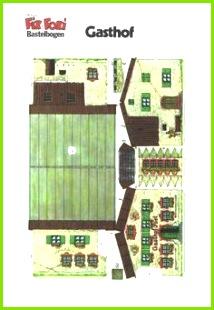 Häuser Basteln Basteln Mit Papier Bastelei Papier Falten Druckvorlagen Papierkunst