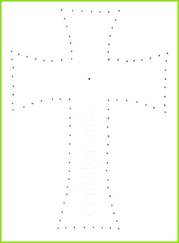 cross template e for fabric applique template Image result for string art