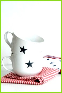unbedingt Sternstassen selbst bedrucken Tasse Bemalen Diy Teller Bemalen Schönes Geschirr Becher Bedrucken