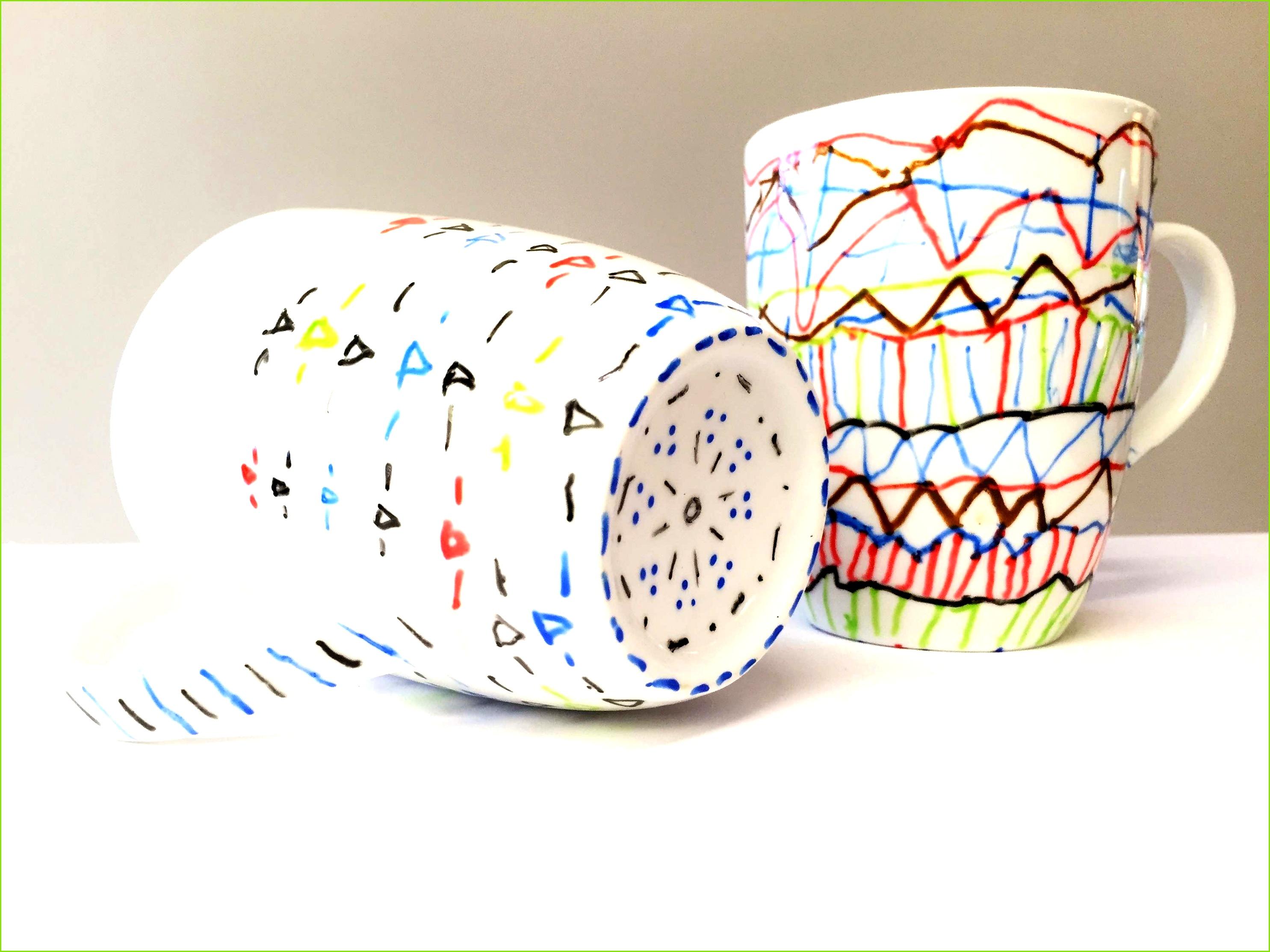 Tassen Bemalen Mit Kindern Vorlagen Süß Malen Auf Porzellan
