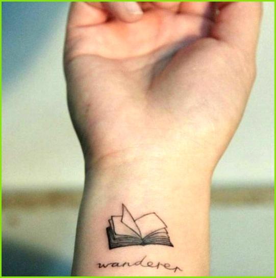 book tattoo design