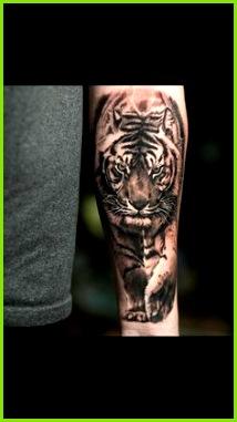 Tiger Tattoo tattoo tiger Schwarze Tattoos Erstes Tattoo Tattoos Frauen Tattoo