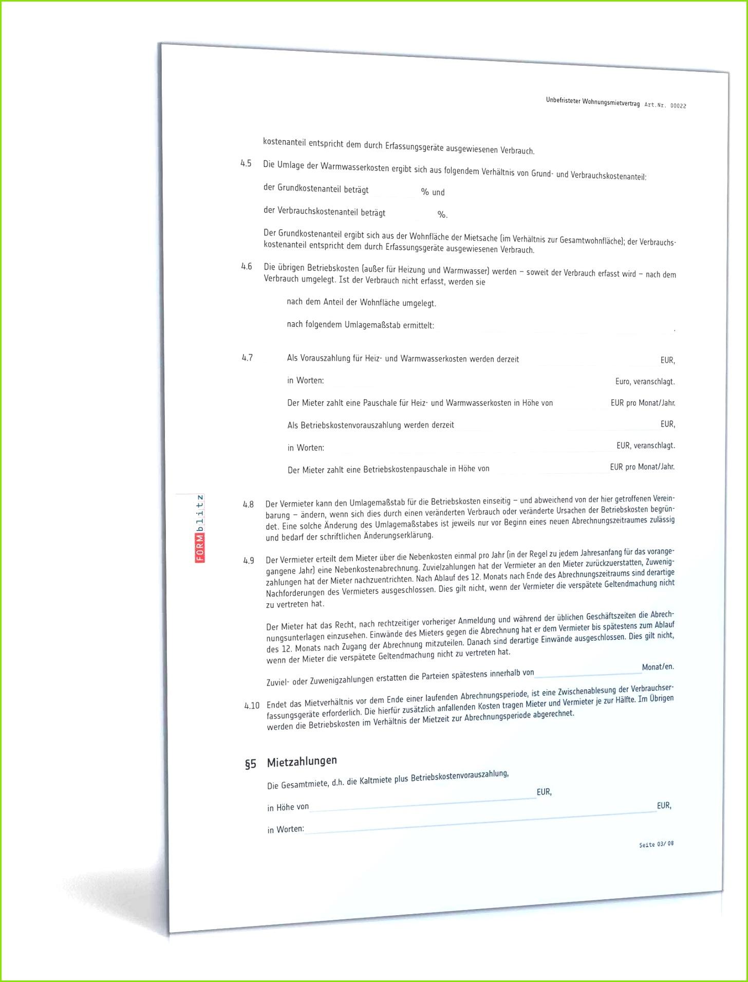 27 Editierbar Untermietvertrag Muster Für Jobcenter